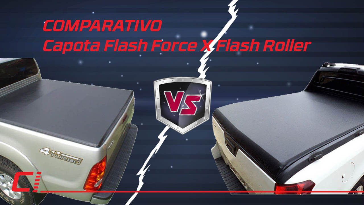 Flash Cover: Capotas Flash Force X Flash Roller